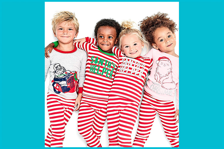 Simple Joys by Carter's Baby to Little Kids Christmas Pajama Set; Courtesy of Amazon