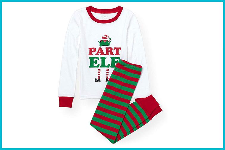 The Children's Place Boys' Christmas Pajama Set; Courtesy of Amazon