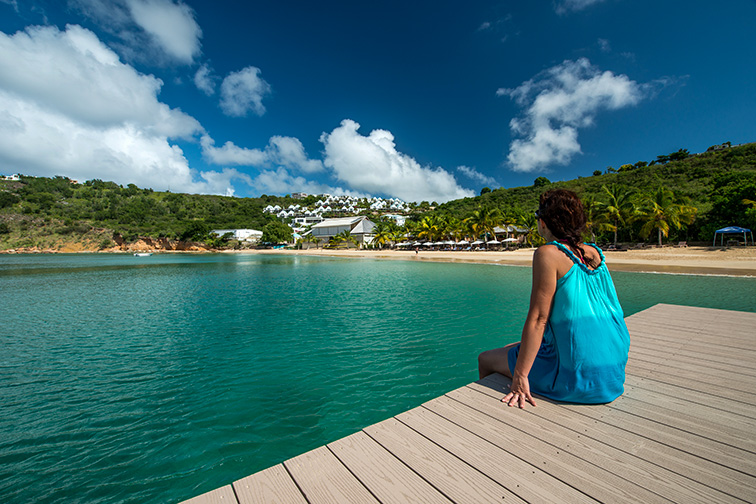 Anguilla beach harbor; Courtesy of Shutterstock