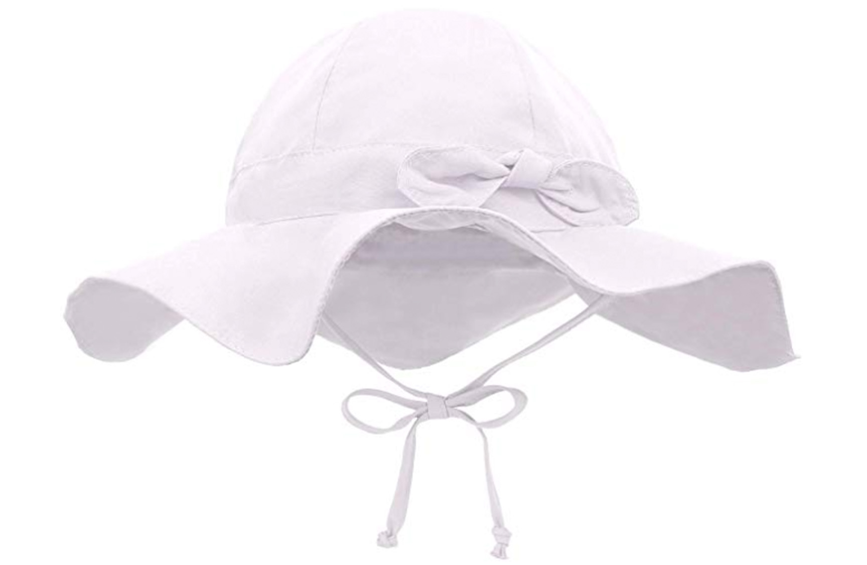 2 to 4 Years White i play UV Breathable Swim and Sun Flap Hat
