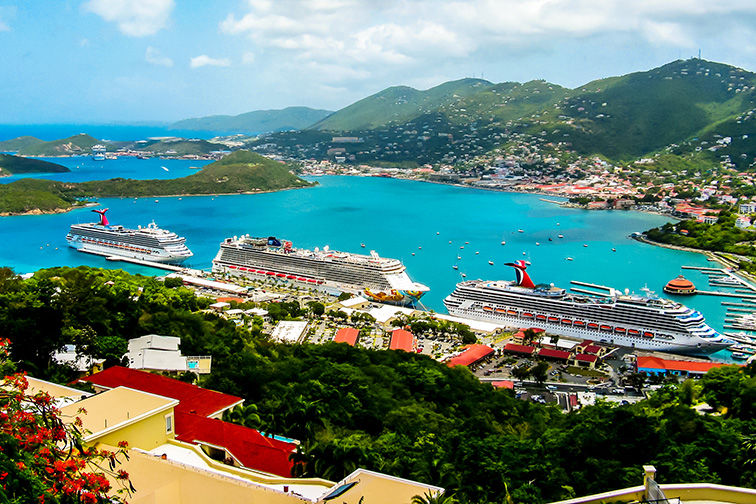 Caribbean Cruise ; Courtesy of Kateryniuk/Shutterstock