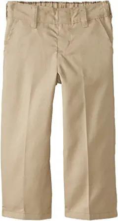 Boys' khaki pull on pant