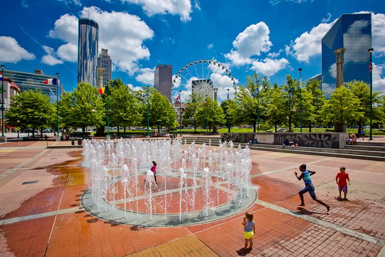 Centennial Olympic Park; Courtesy of Explore Georgia