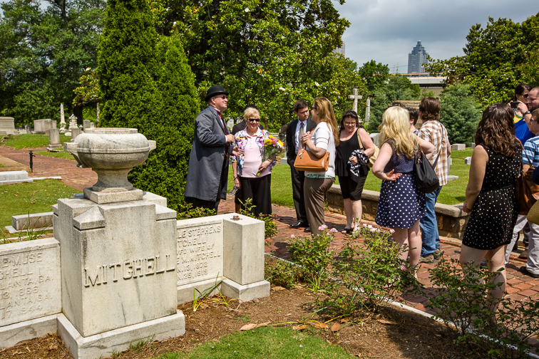 Historic Oakland Cemetery; Courtesy of Explore Georgia
