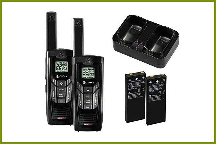 Best Cruise Walkie Talkies For: Theme Park Excursions; Courtesy of Amazon