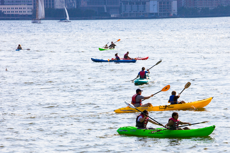 Kayaking in NYC ;Courtesy of NYC & Company