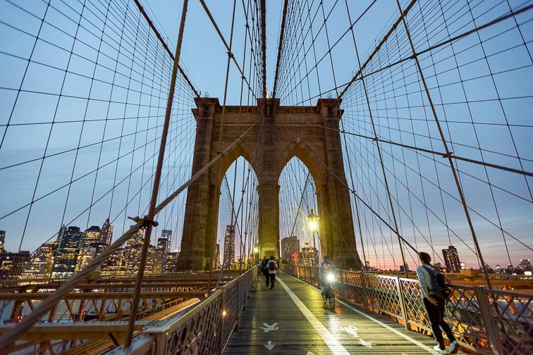 Walk Across the Brooklyn Bridge ;Courtesy of NYC & Company