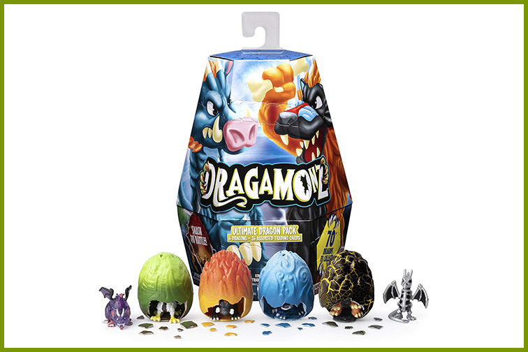 Dragamonz Collectible Figure & Trading Card Game; Courtesy of Amazon
