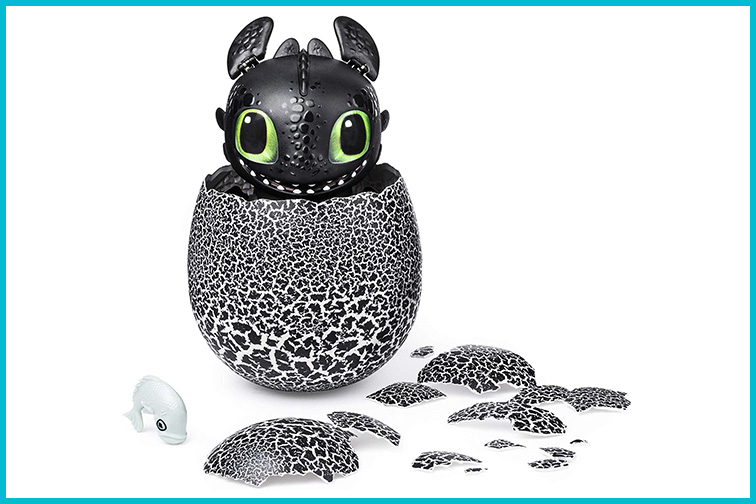Dreamworks Dragons Hatching Toothless Interactive Baby Dragon ; Courtesy of Amazon