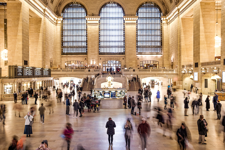 Grand Central Terminal to Watch the Trains and More ;Courtesy of NYC & Company
