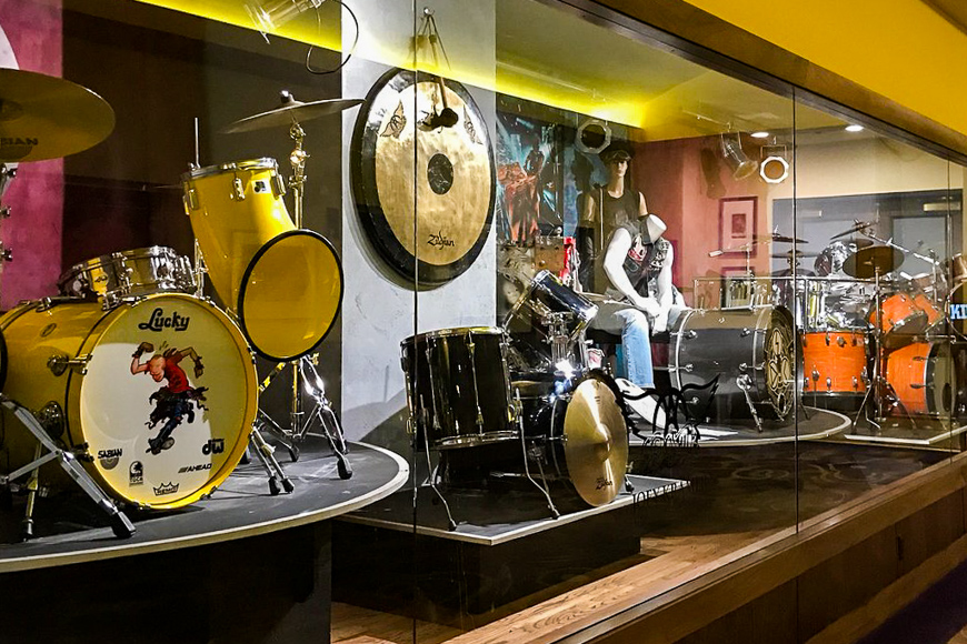 Hard Rock Hotel & Casino Rock & Roll Memorabilia Exhibition ; Courtesy of TripAdvisor traveler/ Elisa G