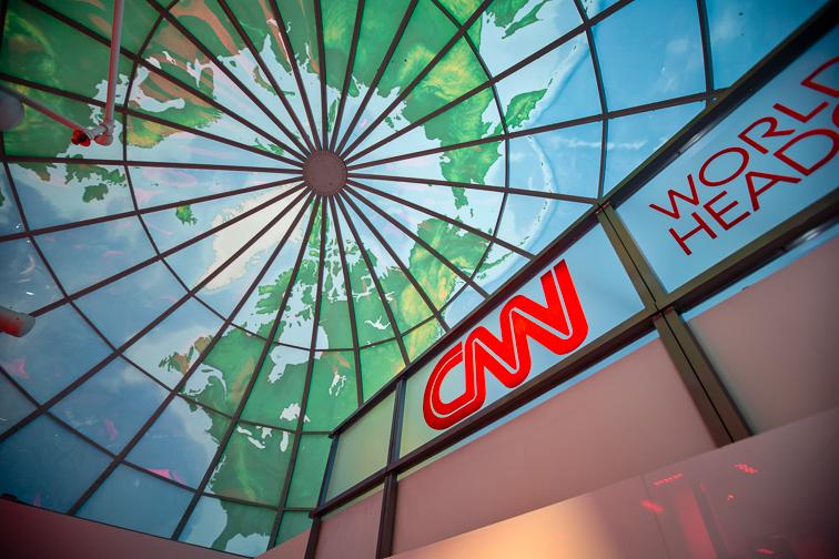 CNN Center; Courtesy of Explore Georgia