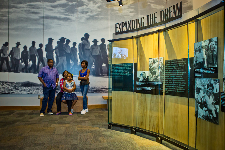 The Martin Luther King, Jr. National Historical Site; Courtesy of Explore Georgia