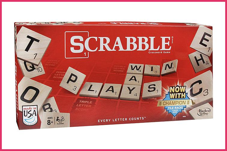 Scrabble; Courtesy of Amazon