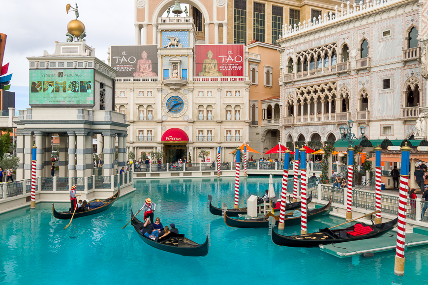 The Venetian Resort Hotel Casino on the Las Vegas Strip ; Courtesy of Ken Wolter /Shutterstock
