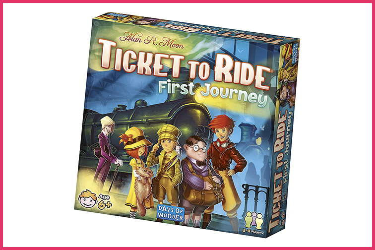 Ticket to Ride First Journey; Courtesy of Amazon