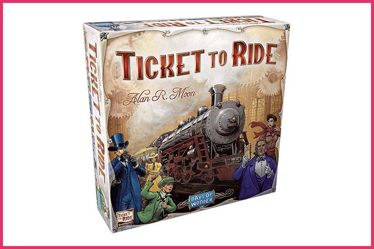 Ticket to Ride; Courtesy of Amazon