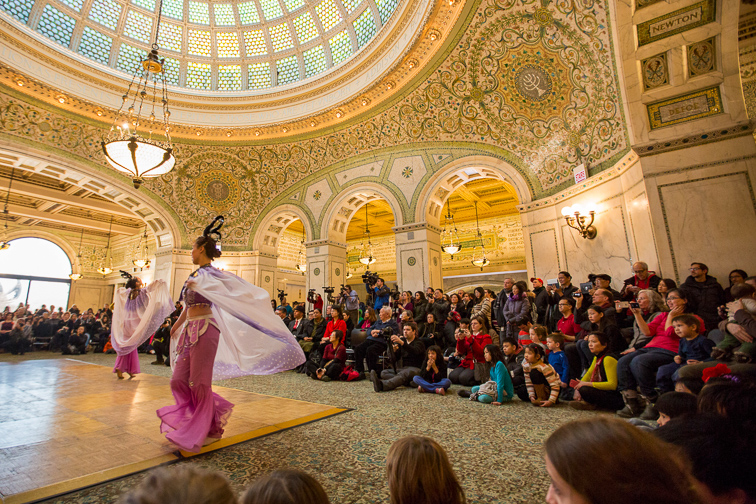 Catch a Free Concert at the Chicago Cultural Center	;	Courtesy of Choose Chicago