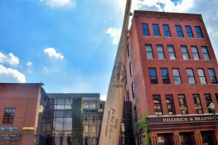 Louisville, KY Slugger Museum; Courtesy of Go to Louisville