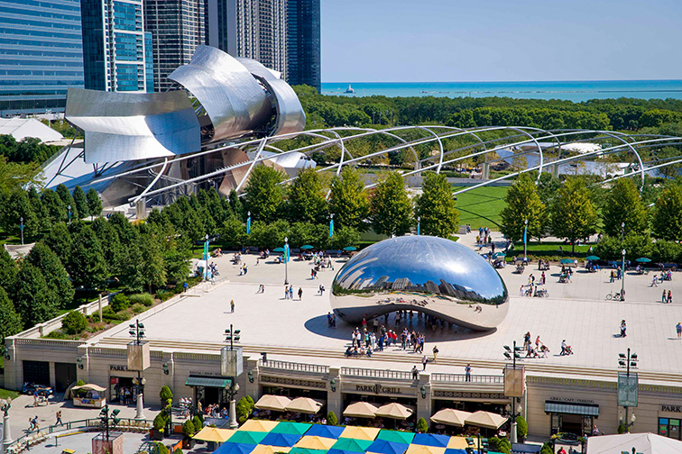 Explore an Urban Oasis at Millennium Park ; Courtesy of Choose Chicago