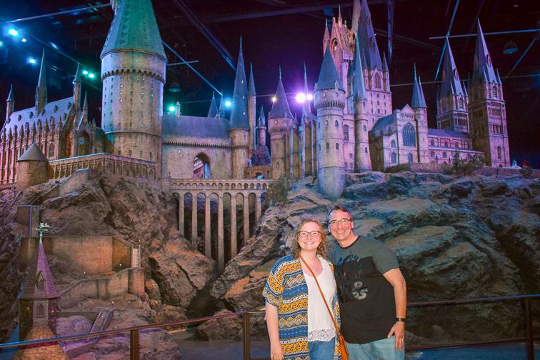 Hogwarts Castle Model; Courtesy of Dave Parfitt