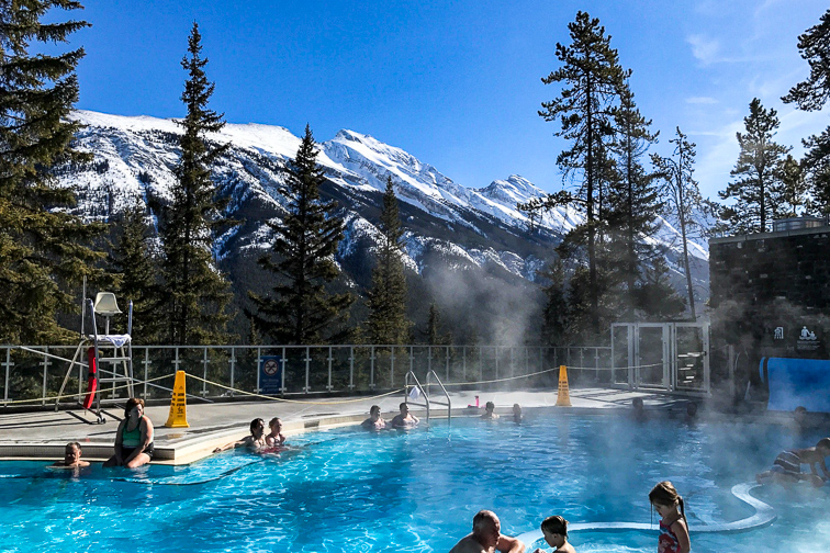 Banff, Canada Upper Hot Springs; Courtesy of TripAdvisor Traveler/Nancie B