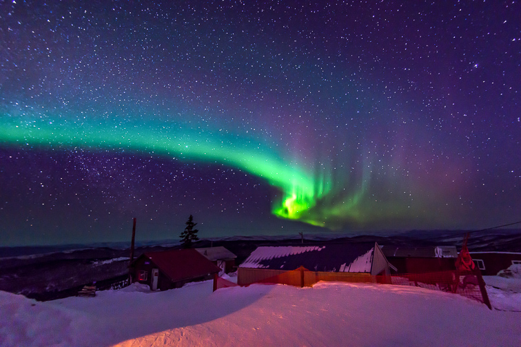 Fairbanks, AK; Courtesy of Pung/Shutterstock