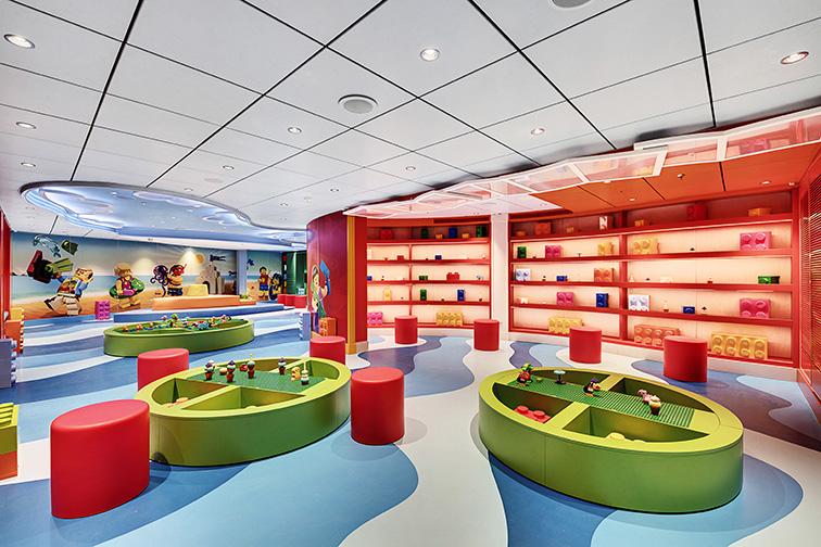 MSC Seaside Lego Room; Courtesy of MSC