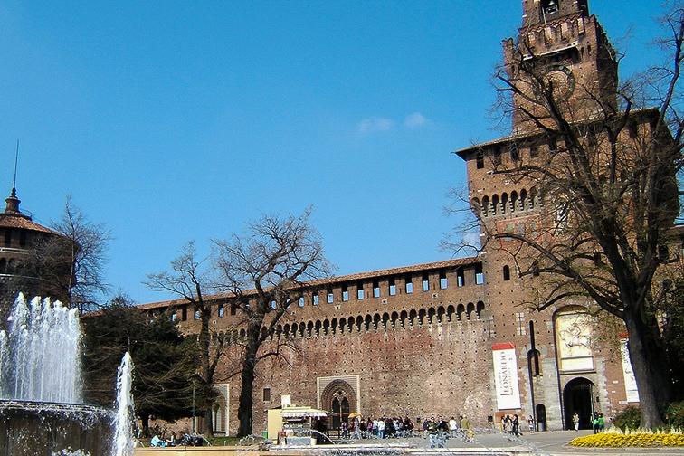Milan Castle;