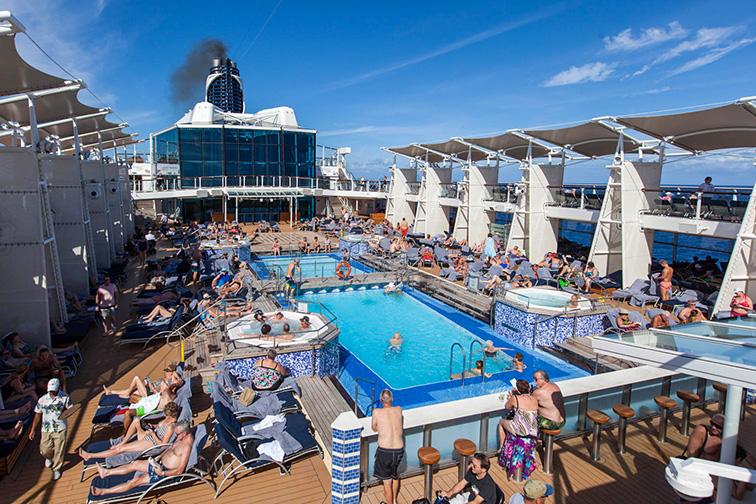 The Main Pool on Celebrity Equinox; Courtesy of TripAdvisor Expert Photo