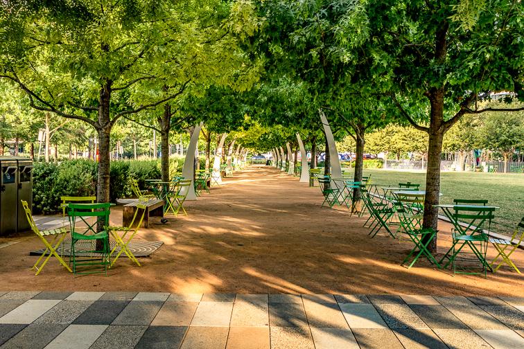 Klyde Warren Park; Courtesy of Travel Texas