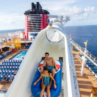 Disney Fantasy waterslide; Courtesy of Disney