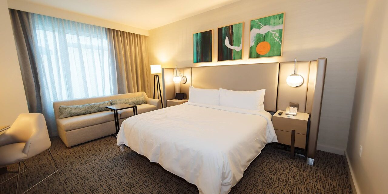 Guestrooms at Art Ovation Hotel; Courtesy of Art Ovation Hotel
