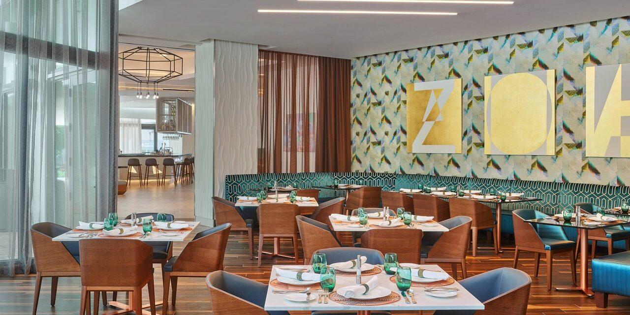 Restaurant at Art Ovation Hotel; Courtesy of Art Ovation Hotel