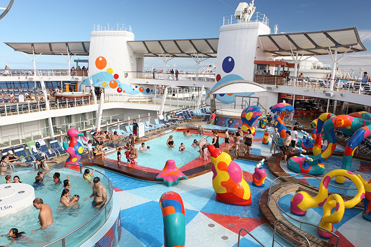 Royal Caribbean's Oasis of the Seas; Courtesy of Royal Caribbean