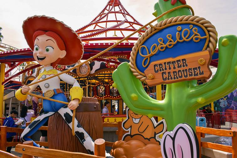 Jessie's Critter Carousel; Courtesy Dave Parfitt