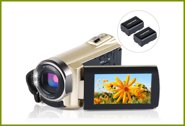ALSONE WiFi FHD 1080P Infrared Night Vision Camcorder; Courtesy of Amazon