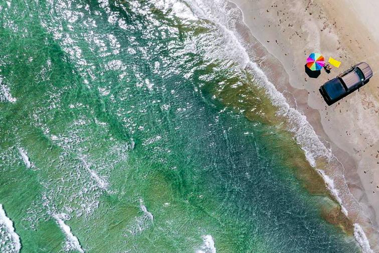 Port Aransas Beach; Courtesy of Visit Texas