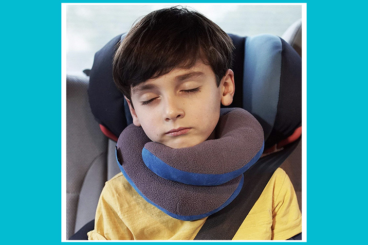 BCOZZY Kids Chin Supporting Travel Pillow; Courtesy of Amazon
