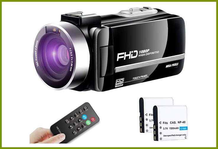 Besungo Ultra HD Camcorder; Courtesy of Amazon