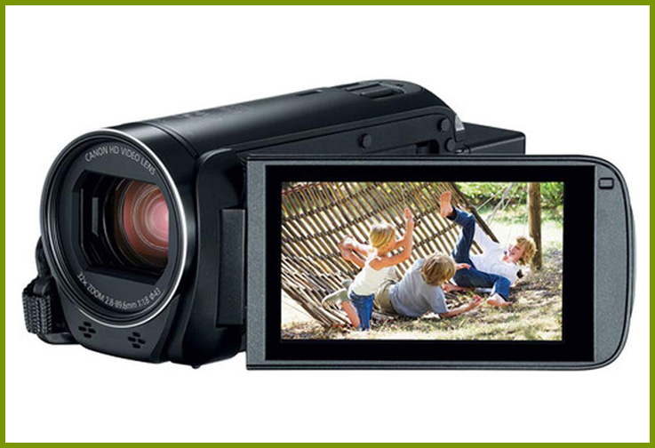 Canon VIXIA R800 Camcorder Bundle; Courtesy Amazon