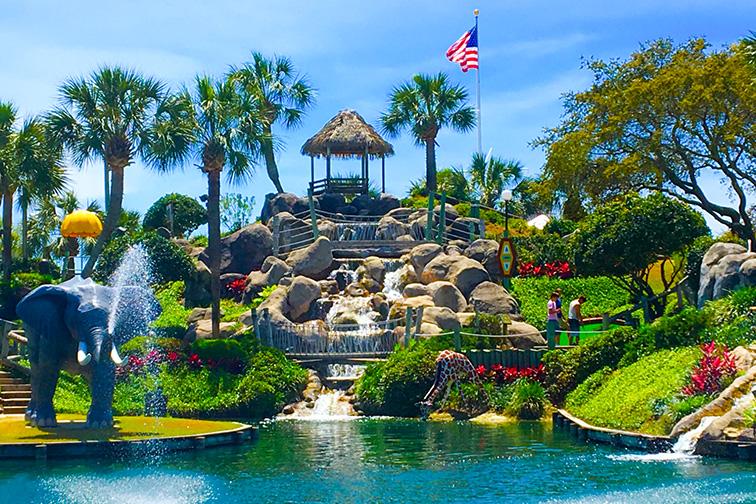 Coconut Creek Family Fun Park in Panama City Beach, Florida; Courtesy of Coconut Creek Family Fun Park