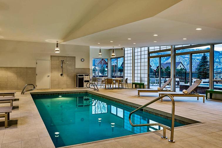 Element Basalt Aspen indoor pool; Courtesy of Element Basalt Aspen