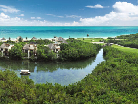 Fairmont Mayakoba – Rivera Maya, Mexico; Courtesy of Fairmont Mayakoba