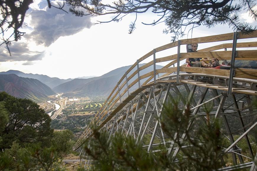 Glenwood Springs; Courtesy Colorado Tourism Office