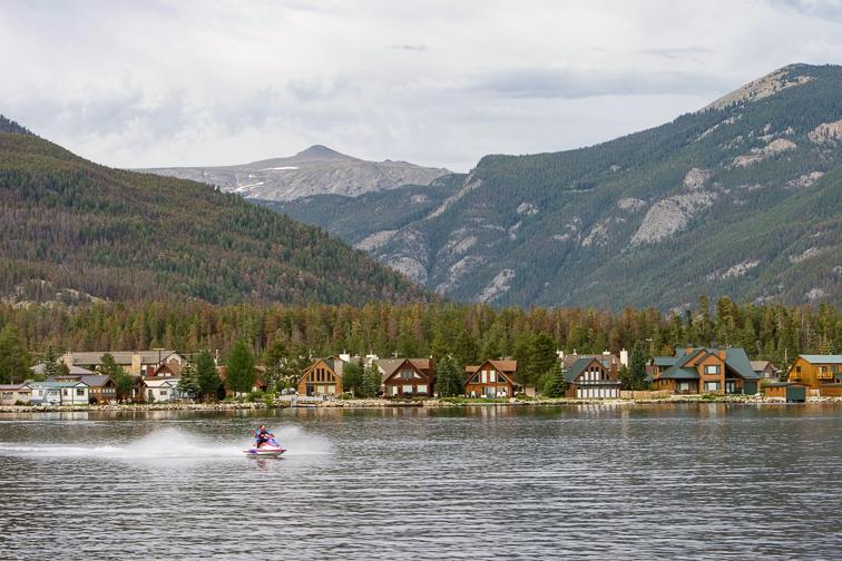Grand Lake; Courtesy Colorado Tourism Office