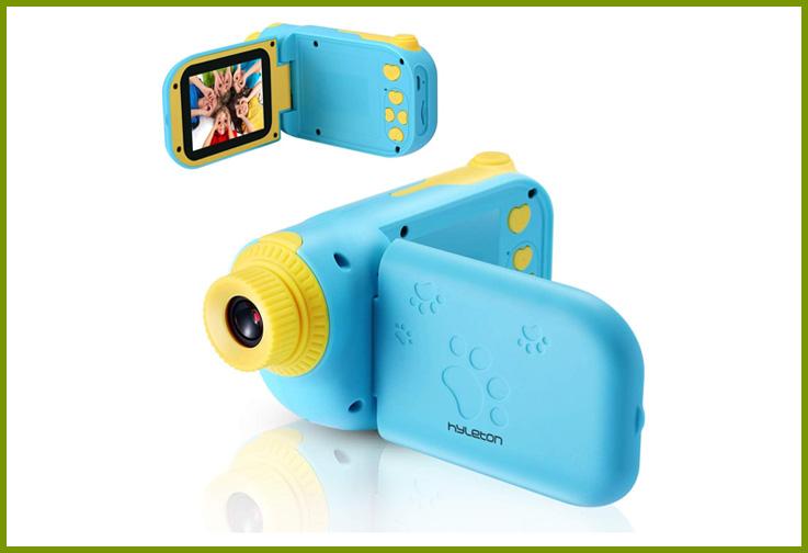 Hyleton 1080P Digital Kids Camcorder; Courtesy of Amazon