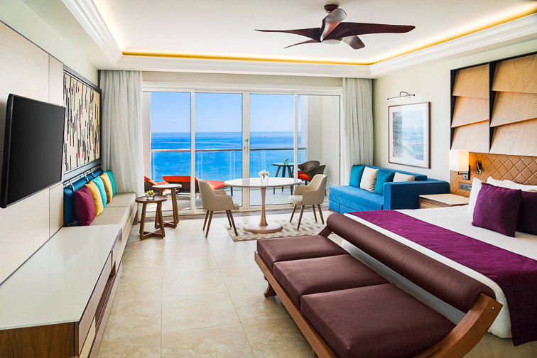 Jewel Grande Montego Bay Resort & Spa guest room; Courtesy of Jewel Grande Montego Bay Resort & Spa