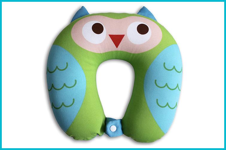 Nido Nest Kids Travel Neck Car Pillow; Courtesy of Amazon