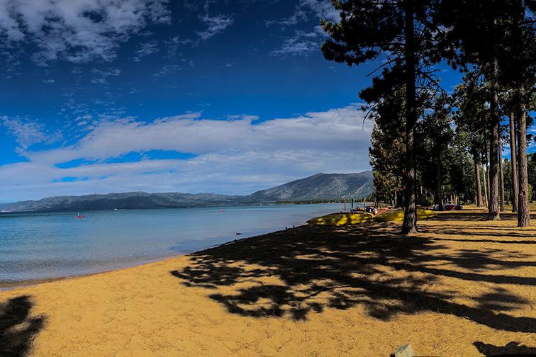 Pope Beach, South Lake Tahoe; Courtesy of Bidur/Shutterstock